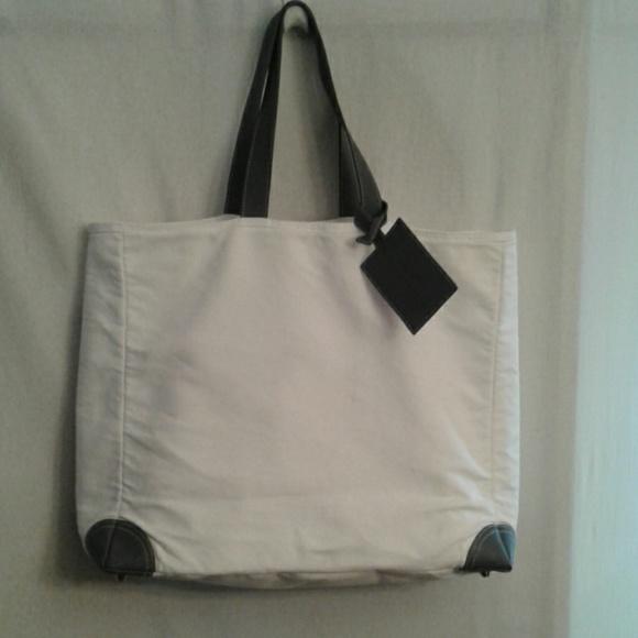 Dolce   Gabbana Bags   Dolce Gabbana White Canvas Tote   Poshmark 99df3b611a